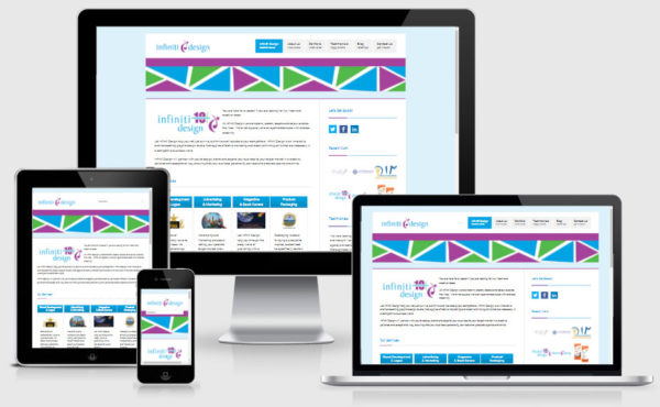 infiniti design website
