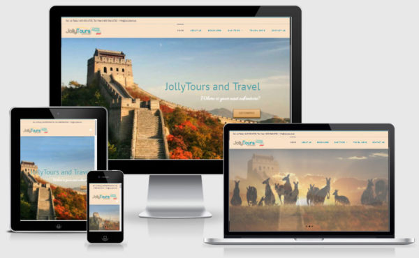 Jolly Tours Website