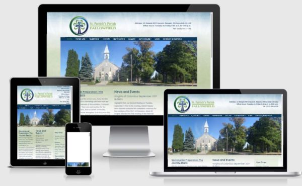 st. patricks' fallowfield website